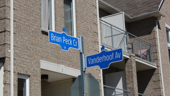 Toronto condo on Leaside street with name that had lofty beginning